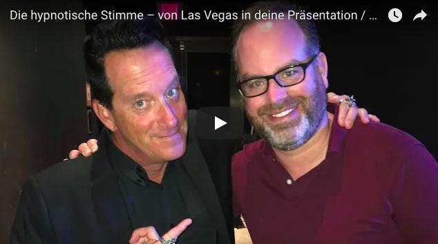Die hypnotische Stimme – von Las Vegas in deine Präsentation